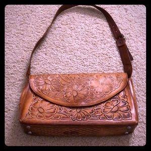 Handbags - Embossed Mexican craftsman bag